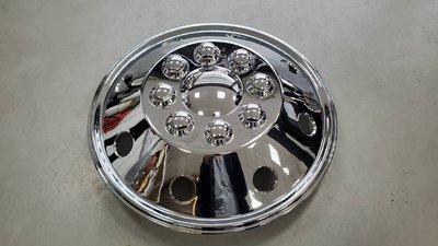 16吋電鍍輪圈蓋 16吋鐵圈專用 ABS電鍍 高品質 金屬卡扣 A款凸蓋
