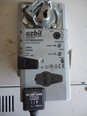 Yamatake azbil MY8040A2001 Damper Actuator 風門驅動器