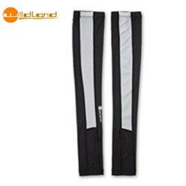 丹大戶外用品【荒野Wildand】中性開洞抗UV透氣袖套 W1801-54 黑色  加長設計 長度至手背