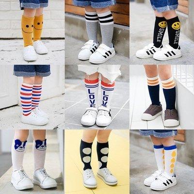 【小阿霏】兒童襪子 中小童長中筒襪 可愛韓風造型長襪 女童男童爆款熱銷長襪 寶寶嬰兒男孩女孩中統襪PA170