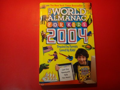 【愛悅二手書坊 02-59】World Almanac For Kids 2004