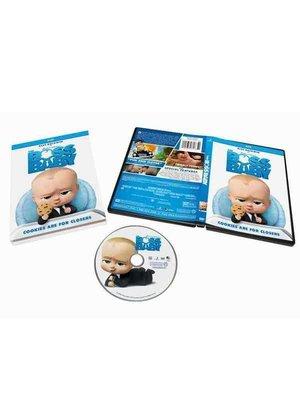 飛馳MART 寶貝老板 The Boss Baby 電影高清動畫卡通碟片DVD純英文原版