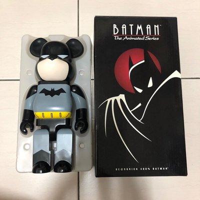 全新 Be@rbrick Bearbrick Batman 400% DC 初代 蝙蝠俠 非1000% iron man 鋼鐵人 spider man 蜘蛛人