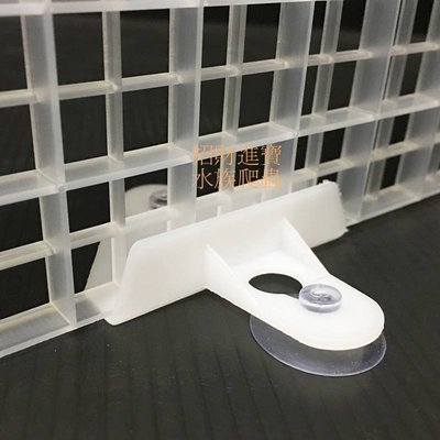 招財進寶 格板夾 固定 隔離 板 夾子 隔板 吸盤 夾 適用 網片 玻璃 壓克力 爬蟲 蜥蜴 守宮 飼養 水族 箱 魚缸