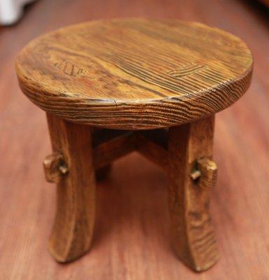 圓凳 板凳 矮板凳椅 美式復古鄉村 休...