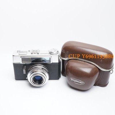 CUP·數碼 德國福倫達VITORET LR color-lanthar50/2.8鏡頭機械旁軸相機黃斑