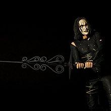 Brandon Lee as the Crow Figure