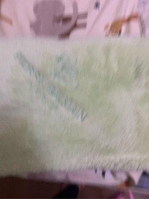 專櫃蘋果淡綠色PB PIERRE BALMAIN90x150cm(嬰兒毛毯櫃紅712)