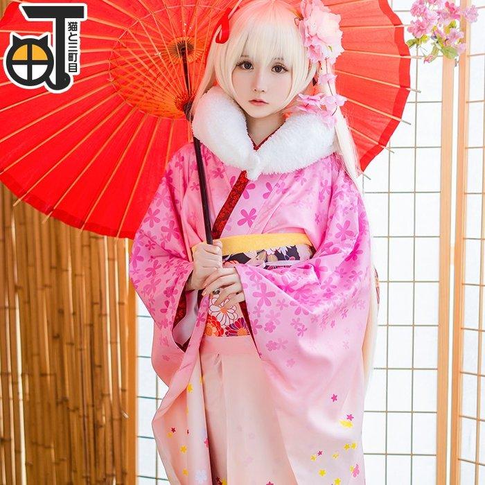 衣萊時尚 穹妹cos服春日野穹cosplay服裝新春和服緣之空動漫女#COS道具#COS服裝