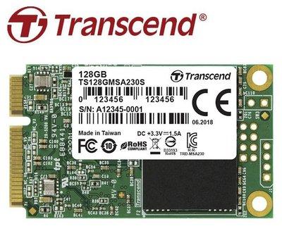 《Sunlink》Transcend 創見 SSD230S 230S 128G 128GB MSATA SSD 固態硬碟