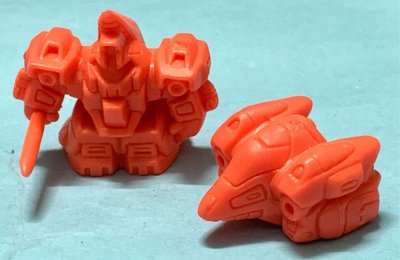 郵寄交收中古扭旦 單色扭蛋 MSA-005 密達斯 MS+MA形態 橙色 SD 淨色 機動戰士Z ZZ 高達 GUNDAM 元祖2124