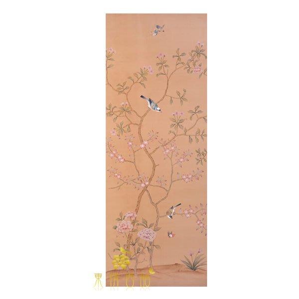 【芮洛蔓 La Romance】手繪絲綢壁紙 ZW01-024 / 壁飾 / 母親節