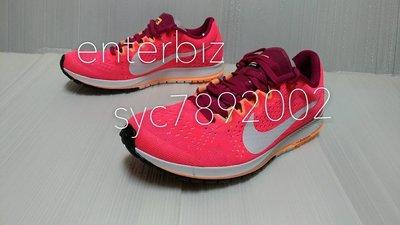NIKE ZOOM STREAK 6馬拉松鞋 路跑鞋831413-602桃紅色* 尺寸詢問*
