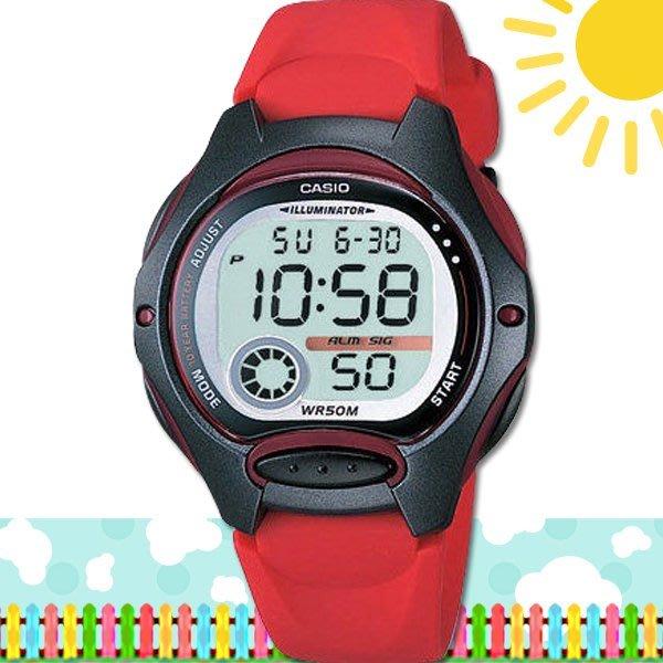 CASIO 時計屋 卡西歐手錶 LW-200-4A 數字錶 兒童錶 球面玻璃 保固 附發票