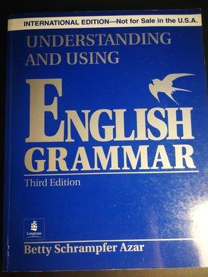 原文書 Understanding and Using English Grammar 3Rd Edition