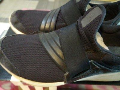 海蒂族Haidis99夯品俱樂部國際名品 ADIDAS二手正品Lite slipon mAF6540繃帶式潮鞋F 44 2/3 US 10 1/2