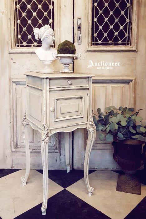 【拍賣師古董市集】歐洲古董1930年代法國大理石邊櫃