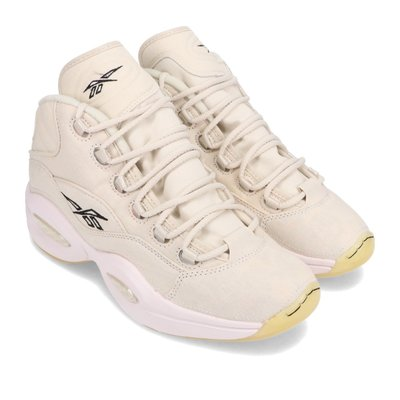=CodE= REEBOK QUESTION MID 破壞夜光籃球鞋(米白) FZ1357 萬聖節 IVERSON 男