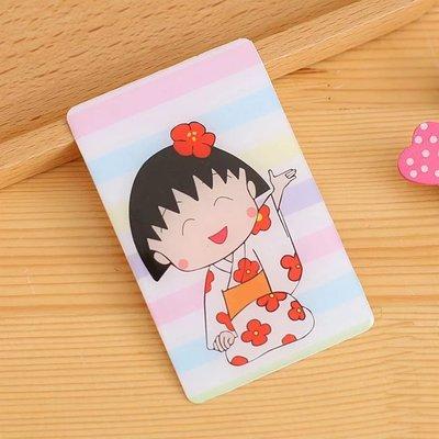可愛小丸子卡貼 水晶光面防水卡貼