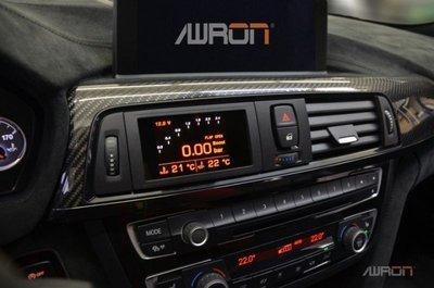=1號倉庫= AWRON 多功能數位錶 BMW 3系列 E9X M3 V8 機械增壓專用
