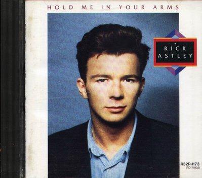 八八 - Rick Astley - Hold Me In Your Arms  - 日版 CD 1988
