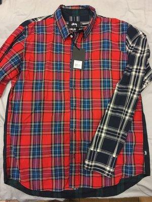 Stussy Varied Pattern Mixed Plaid Shirt 經典拼布格紋拼色格子襯衫
