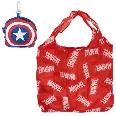 【莓莓小舖】正版 ♥ Disney 迪士尼 Marvel 漫威 美國隊長 環保購物袋 環保收納購物袋