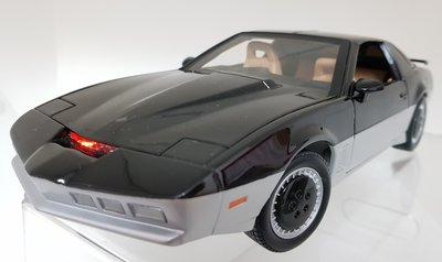 霹靂遊俠李麥克夥計knight rider霹靂車KARR1:18 1/18金屬仿真模型