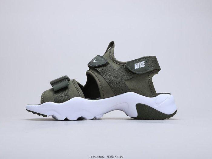 耐克 Nike Canyon Sandal 厚魔底術扣閑休時尚涼鞋 CV5515-001登山閑休運涼動