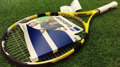 『贈原廠拍袋/握把皮/避震器/網球』BABOLAT EVOKE 105 網球拍 BTR121161G2 黃色