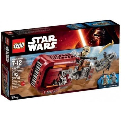 全新 盒殘 Lego Star Wars 75099 Rey's Speeder