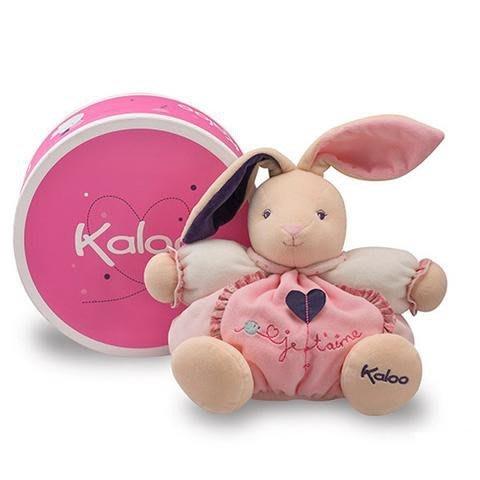 🌟正版🌟【 法國 Kaloo 】PETITE ROSE Rabbit 立體愛心 兔兔 安撫玩偶 (中型)