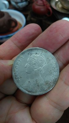 大草原典藏,英國古銀幣,1901年