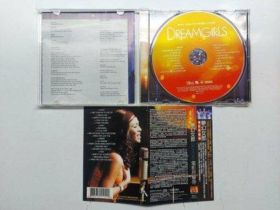 夢幻女郎 Dreamgirls 電影原聲帶 MUSIC FROM MOTION PICTURE 附側標 2006年 新力發行