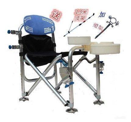 【優上精品】釣魚椅 釣椅 防晃動多工能折疊椅 釣凳垂釣用品釣魚凳休閒戶外釣魚(Z-P3125)