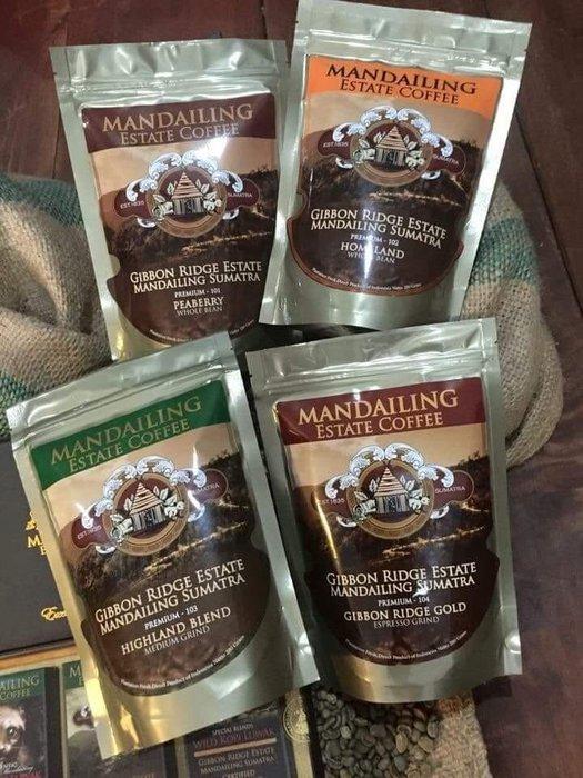 限時嚐鮮價💣蘇門答臘黃金曼特寧咖啡豆 Premium Sumatra Mandheling Arabic coffee (Single origin單品咖啡)