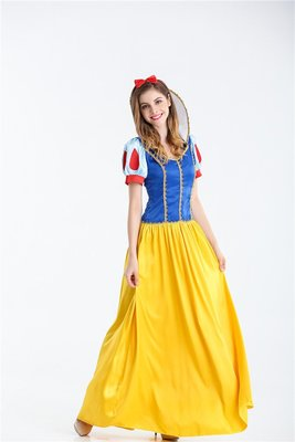 Snow White Cosplay Outfit Halloween Costumes party wear
