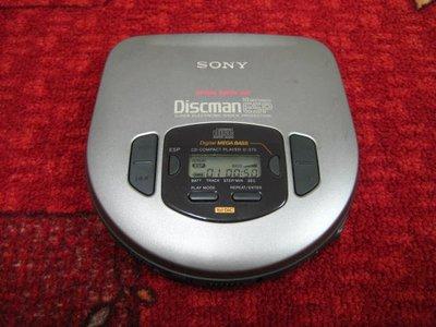 【完美作品】90%新,SONY Discman ESP D-275 CD隨身聽,簡易配件