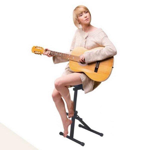 ☆唐尼樂器︵☆免運費 台灣製 CNBear K-765 琴椅 樂器表演椅 DJ 椅 指揮椅 吉他自彈自唱椅