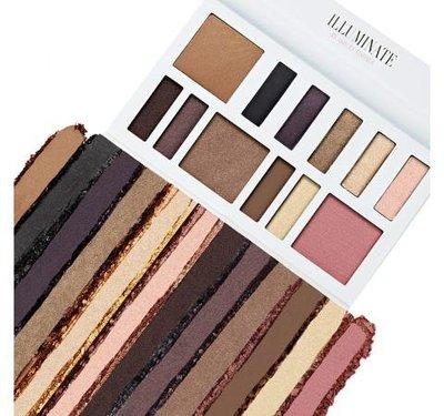 (現貨在台)美國 Bh Cosmetics Illuminate Ashley Tisdale聯名12色眼影+腮紅組盤