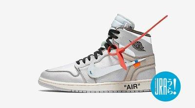 【URA 全新現貨】 Off-White x Nike Air Jordan 1 AJ1 全白 終極聯名