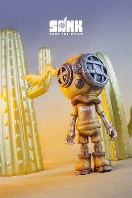 Sank Toys Little Sank 小藏克 搪膠系列 末日黃昏 .