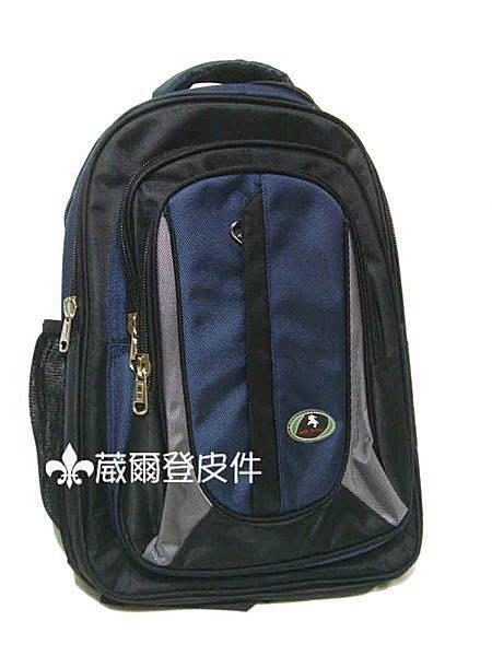 《葳爾登》JOCKEY電腦包公事包側背包斜背包.手提包.書包,可後背包運動背包JK-6193藍色