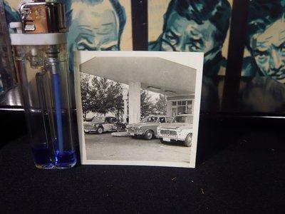 鄉親@文化~早期懹舊黑白照片~中油加油站~結婚迎娶車隊~加油中~~GG~429