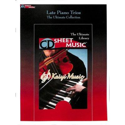 Kaiyi Music ♫Kaiyi Music♫Sheet music late piano trios