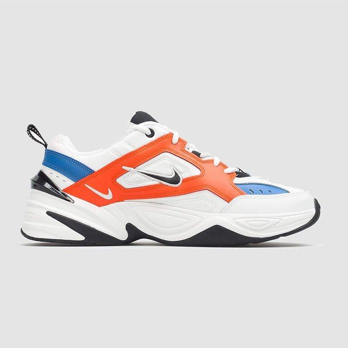 【QUEST】NIKE M2K TEKNO 老爹鞋 白橘藍 AV4789 100