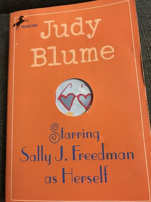 英文小說  judy blume starring sally J. freedman as herself 300頁
