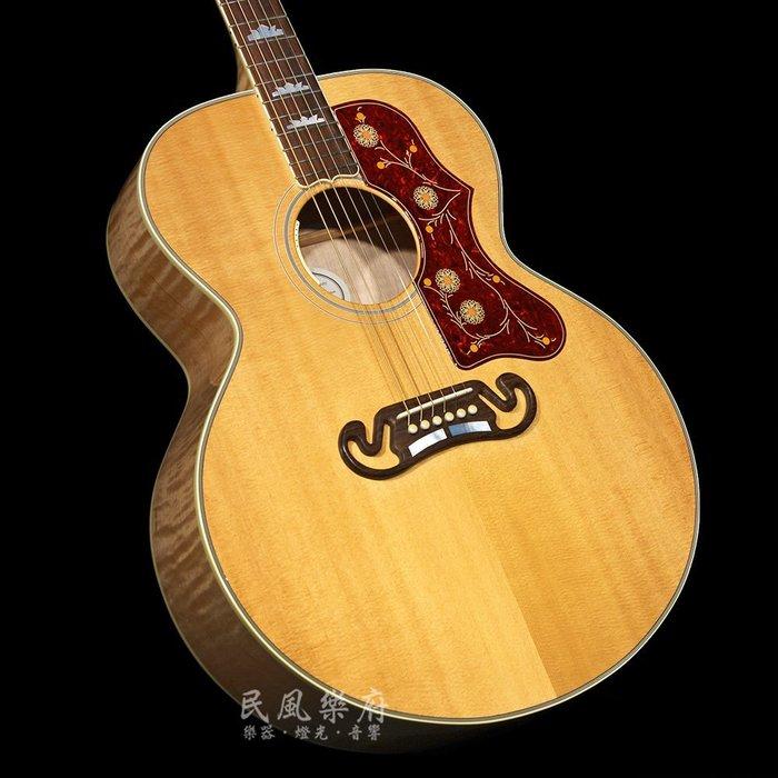 《民風樂府》Gibson J-200 AN 美國廠 Jumbo琴身 傳奇經典型號 木吉他的王者 全新品公司貨