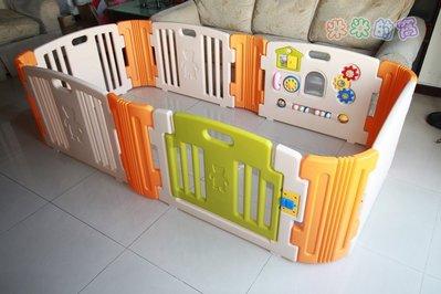 @米米的窩@專業玩具租賃 韓國 HAENIM TOY 遊戲安全圍欄 6片 日本設計 [出租]