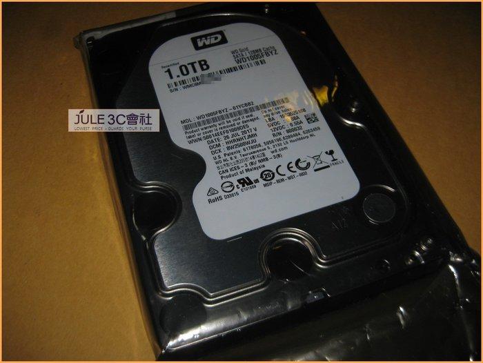 JULE 3C會社-威騰WD 金標 WD1005FBYZ 1TB 1T 未拆/128M/3.5吋/SATA3/企業級硬碟